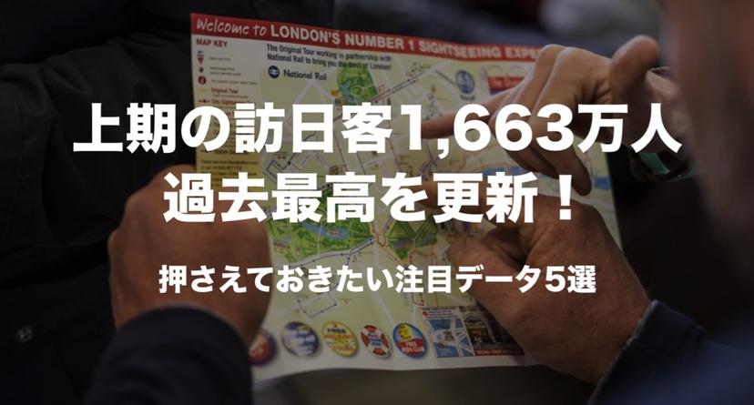 訪日客は2019上期も過去最高を更新!押さえておきたい注目データ5選