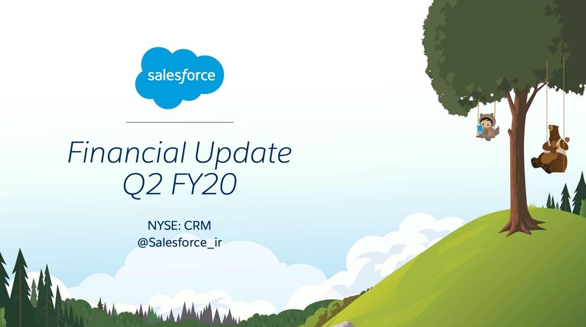 「Salesforce」20/1期2Q決算:Tableau買収で売上1.8兆円へ